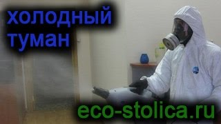 видео Обработка от тараканов туманом