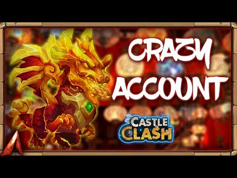 Crazy Allmighty Account Overview! Multiple Lavanicas! Castle Clash