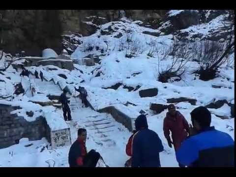 Enjoying SNOW at Solang Valley, Manali, Himachal Pradesh (January,2016)