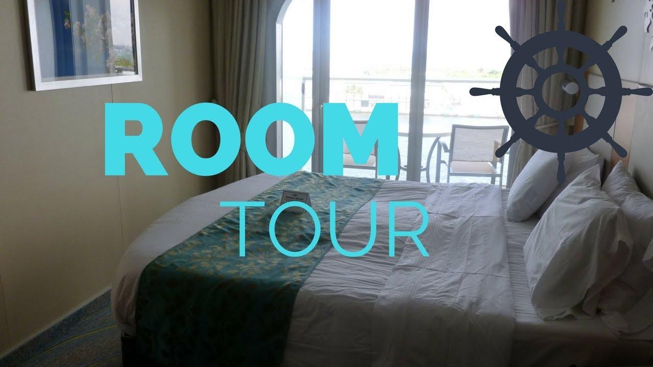 Oasis Of The Seas Room Tour Ocean View Balcony Cabin Cruise Ship Royal Caribbean
