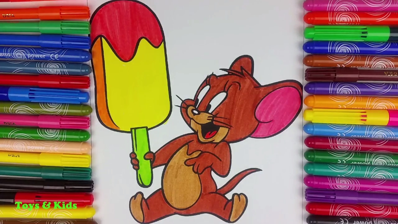 Tom and jerry coloring page-14 | 720x1280