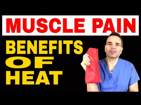 Muscle Pain Benefits of Heat