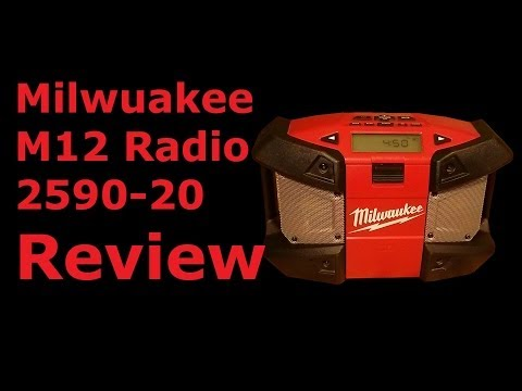 Milwaukee M12 Portable Radio Review