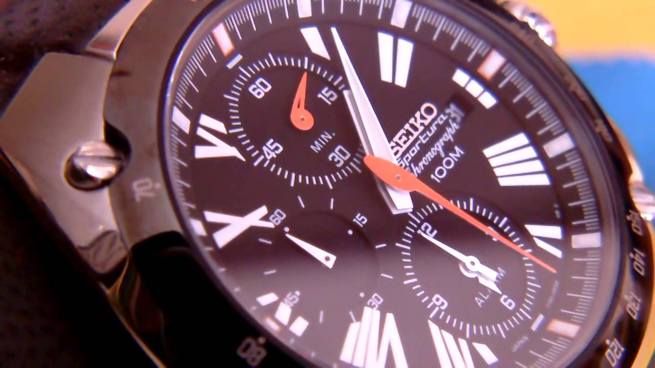 52f43bef3 SEIKO SPORTURA CHRONOGRAPH 100 M CAL 7T62 by libra watches