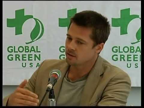 Brad Pitt charity work