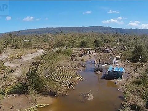 Relief Workers Reach Remote Areas of Vanuatu