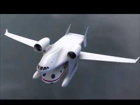 Clip-Air: How Pod Planes Could Change Travel Forever