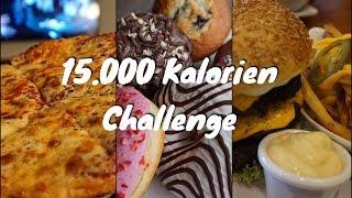 CHEATDAY - 15.000 Kalorien Challenge