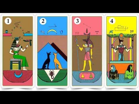 Elige una carta egipcia y sabrás cosas de tu futuro y fortuna en la vida
