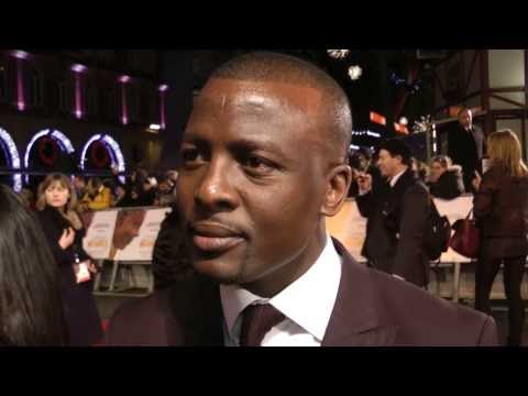 Tony Kgoroge Interview - Mandela: Long Walk to Freedom Premiere