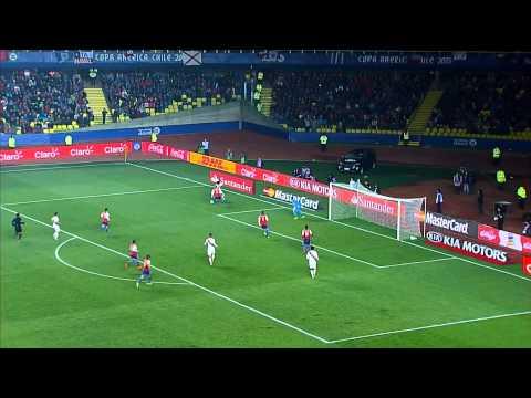 Copa América 2015: 3er y 4to Puesto: Perú 2-0 Paraguay