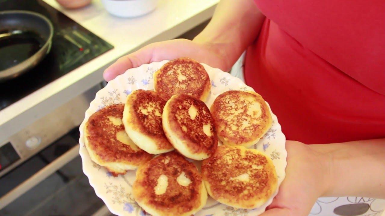 как делать сырники из творога простой рецепт с фото пошагово