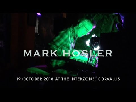 Mark Hosler at Interzone in Corvallis, OR.