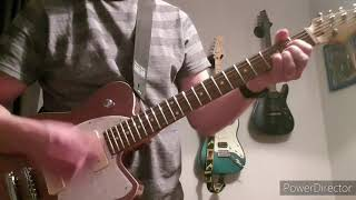 Jumping Someone Else's Train - The Cure - Guitar Cover