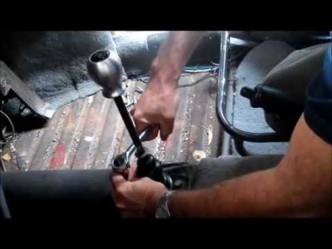 How to change a VW Beetle Gearshift bushing  YouTube