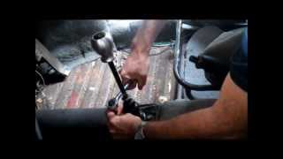 How to change a VW Beetle Gearshift bushing