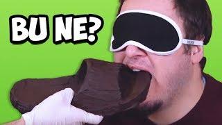 Bu Yediğin Ne? - Çikolata Kaplı Objeyi Tahmin Et