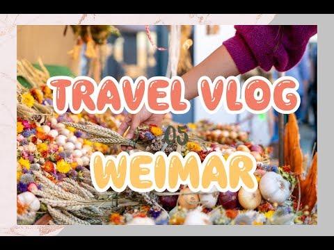 [HD] Travel Vlog 05 | 魏玛洋葱市场 Zwiebelmarkt 2018