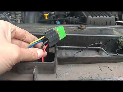 Вентиляторы охлаждения Citroen Xantia (не забываем подписываться)
