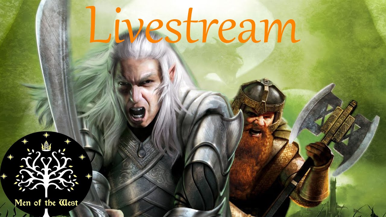 Download Lord of the Rings Online & Battle for Middle-earth Livestream (with Patrons!) - MOTW Livestream 13