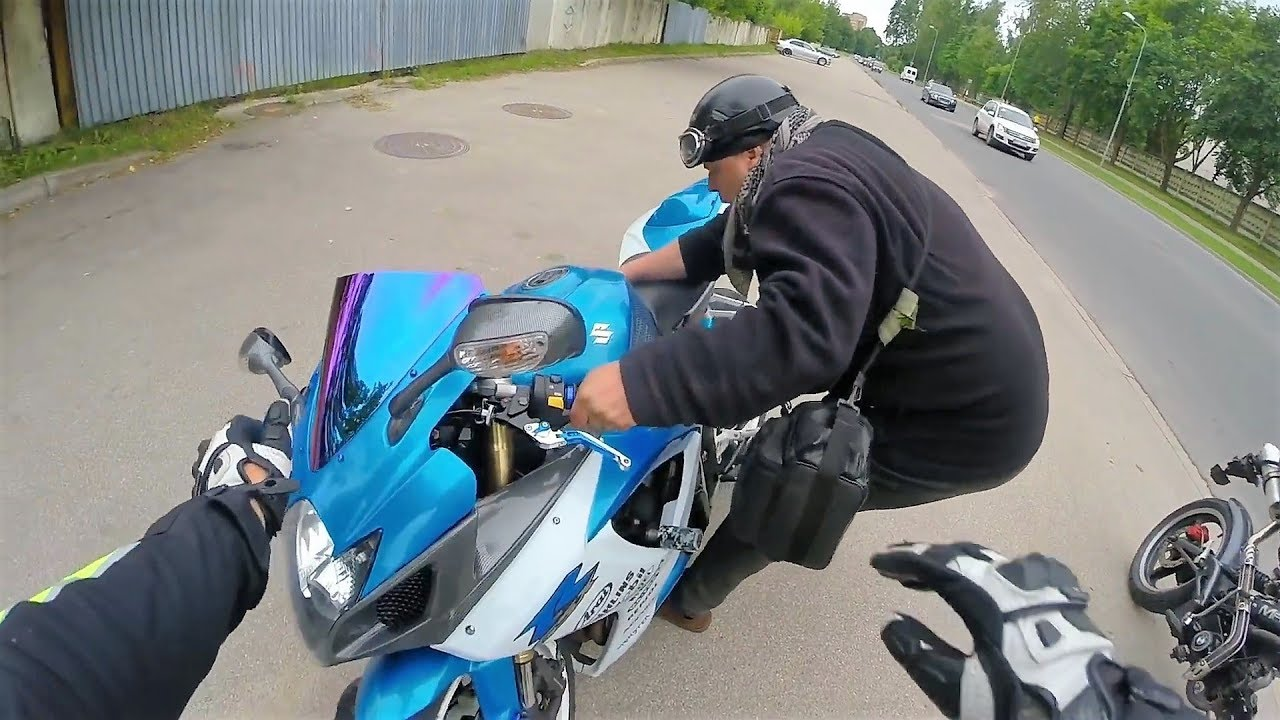 Мужик Почти РАЗБИЛ Мотоцикл Мечты