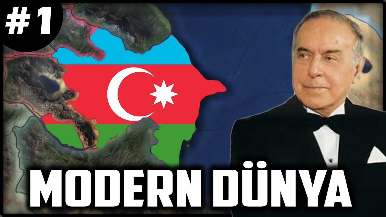 NE OLDU İRAN? Hearts of Iron 4 - AZERBAYCAN #1