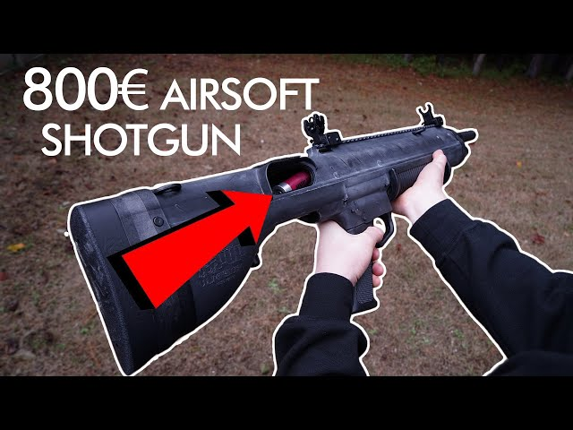 800$ Airsoft Shotgun - Custom Built Bullpup