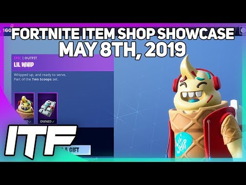 Fortnite Item Shop LAST SHOP OF SEASON 8! [May 8th, 2019] (Fortnite Battle Royale)