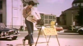 Sesame Street - Danger - Man Reading Newspaper