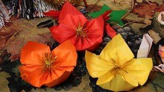 как сделать цветы из бумаги своими руками поэтапно - Новый год 2015