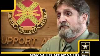 Sam Goodell, U.S. Army Europe Human Resources Technician