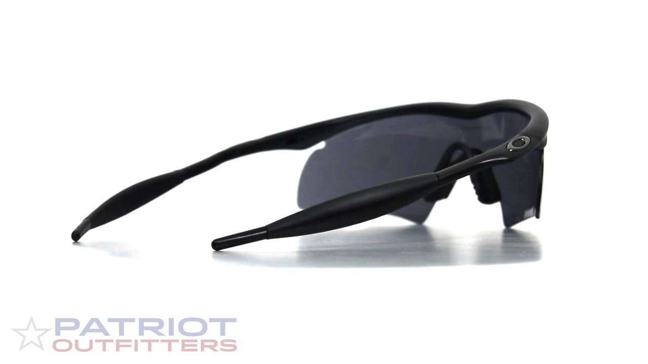 Oakley M Frame Hybrid SI Glasses 3 Lens Array - YouTube