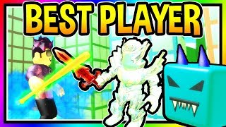 BEST PLAYER SLAYING SIMULATOR - Blizzard Update/ Update 11 Roblox