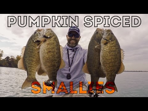 LAKE ST. CLAIR Late FALL Smallmouth