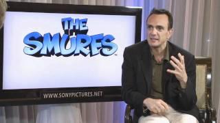 Интервью с актерами фильма Смурфики (2011)