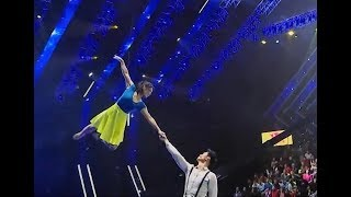 Dancing with visible wire| CCTV English