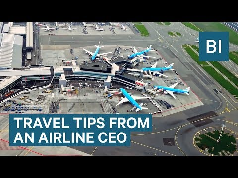 Travel Tips From The CEO Of KLM Royal Dutch Airlines
