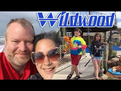 #Wildwood #Crest NJ Macks Pizza & Starlux Mini Golf