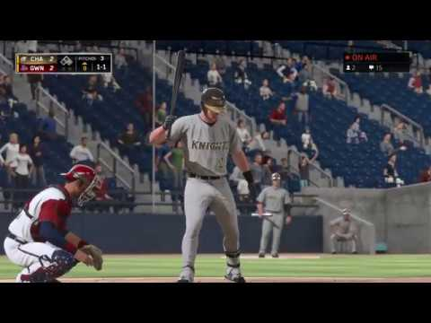 MLB the Show 16 Ep7 Frank D Tank 1st baseman for the Chicago White Sox