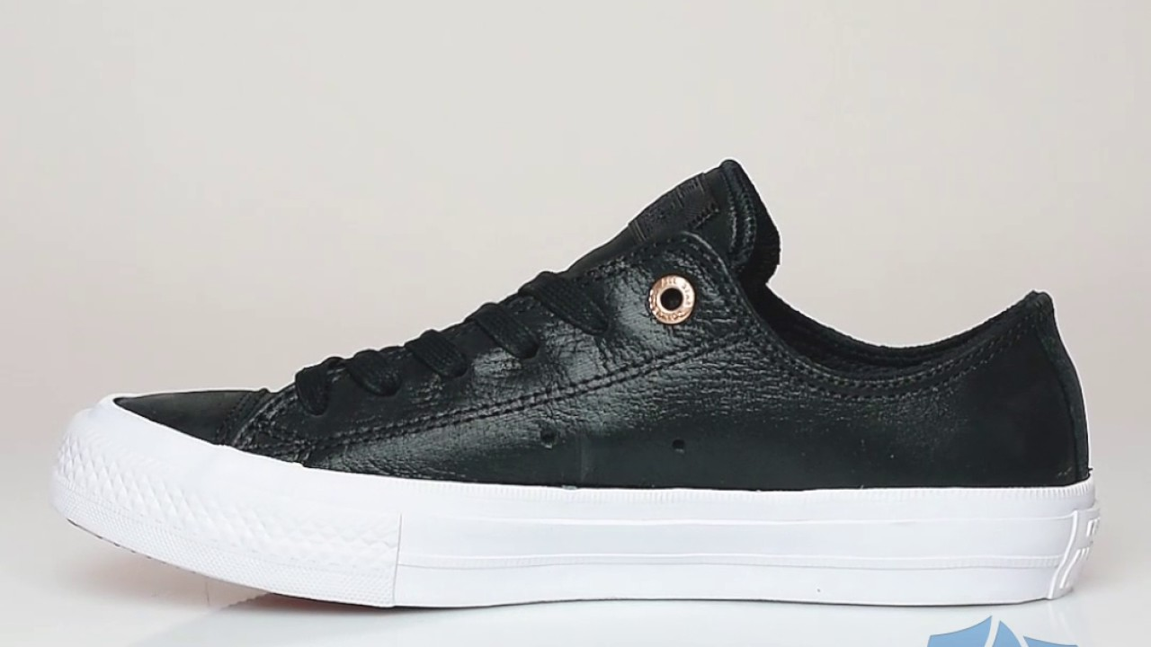 converse all stars ii leather