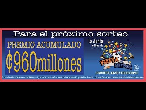 Sorteo Lotería Nacional N°4470, Domingo 10 de diciembre 2017. JPS