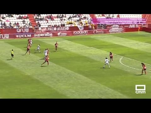DIRECTO: Liga Iberdrola. Fundación Albacete - Sporting Huelva. Castilla - La Mancha Media.