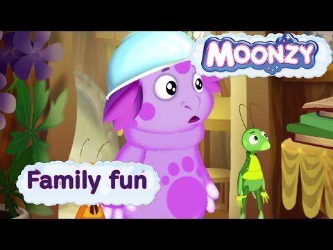 MOONZY (Luntik) -Family fun [HD]