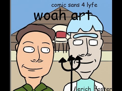 Rick And Morty Fan Art Speed Draw American Gothic