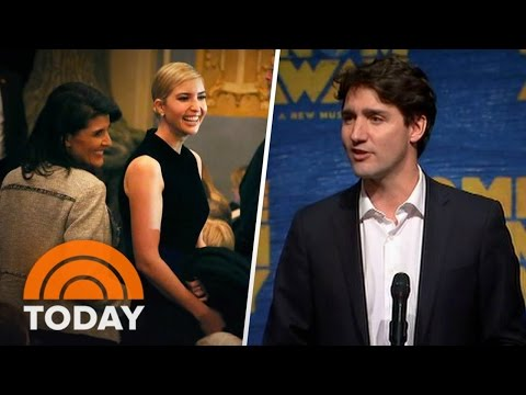 Ivanka Trump Hits Broadway With Canadian PM Justin Trudeau | TODAY