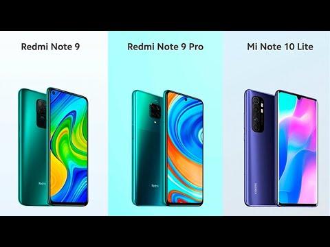 Redmi Note 9, 9 Pro и Mi Note 10 Lite Представлены! Есть NFC?