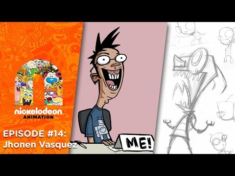 Episode 14: Jhonen Vasquez | Nick Animation Podcast