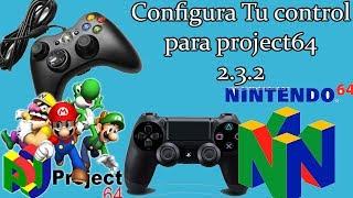 Configura tu control de Xbox360/PS4 para Project64 2.3.2