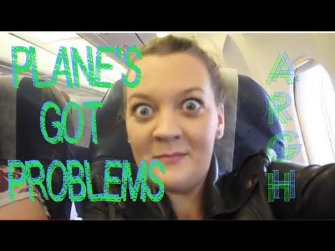 PLANE PROBLEMS!!!: lauren's airport delays to Zante