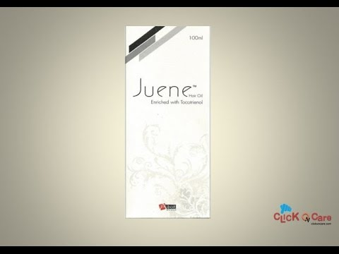 Juene Hair Oil Online Spping - ClickOnCare.com - YouTube